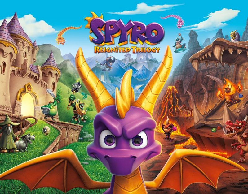 Spyro Reignited Trilogy (Xbox One), Officer Gamer, officergamer.com